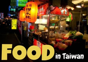 Taiwanese food stand