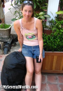 Carrie Kellenberger in Vientiane, Laos