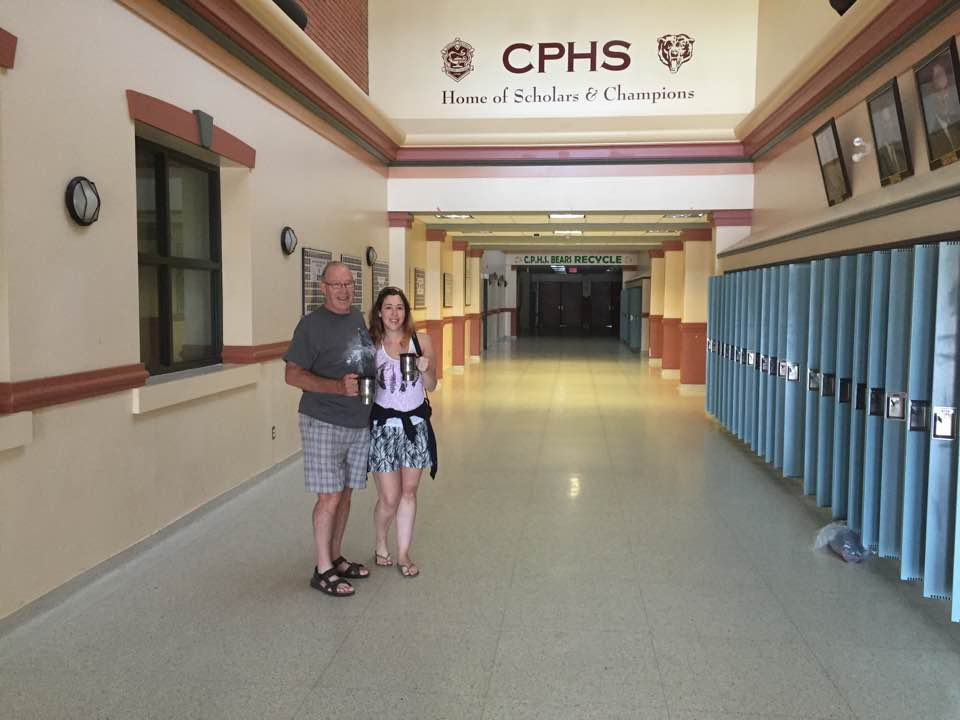 Me and Dad at CPHS in July 2016