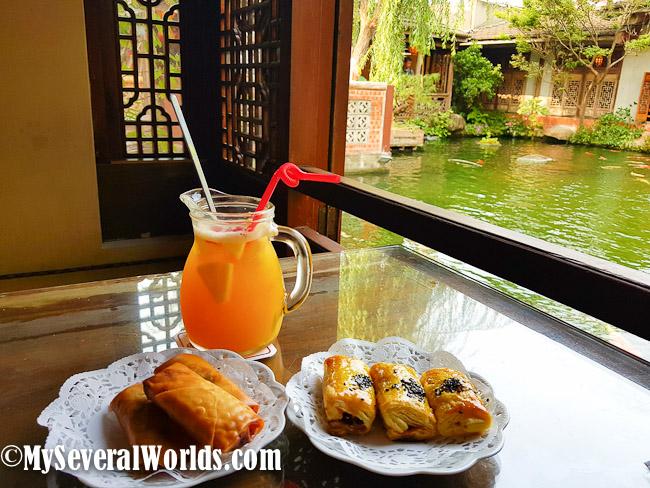 Jwu Jiu Teahouse in Chiayi Southern Taiwan