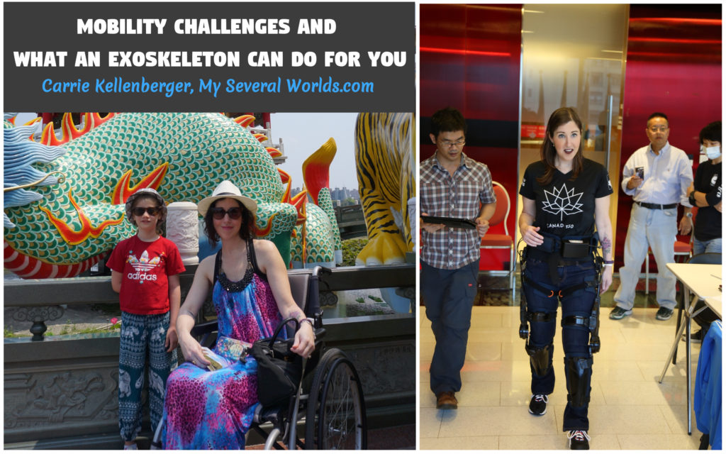 Carrie Kellenberger Disability and Robotic Legs