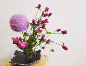 Spirited Away Ikebana Arrangement