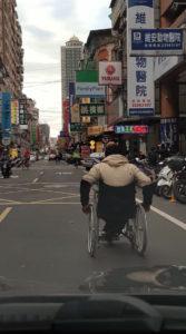 Wheelchair Users Cannot Use Sidewalks in Taipei