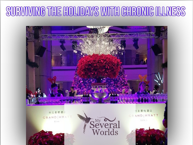 Chronic Illness and Holidays