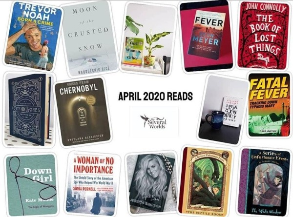 Carrie Kellenberger April 2020 Books