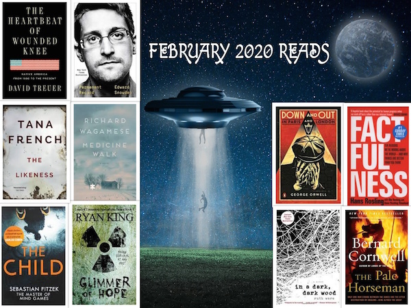 Carrie Kellenberger - February 2020 Books
