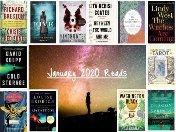 Carrie Kellenberger - January 2020 Books