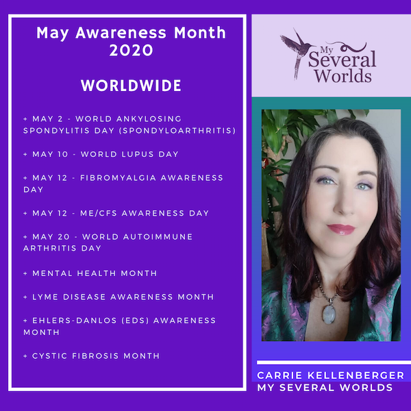 May Chronic Illness Advocacy - Carrie Kellenberger My Several Worlds