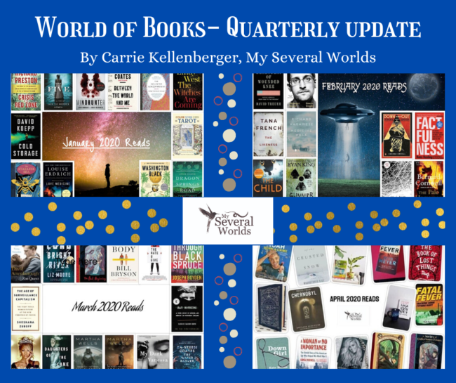 World of Books - Quarterly Book Update by Carrie Kellenberger