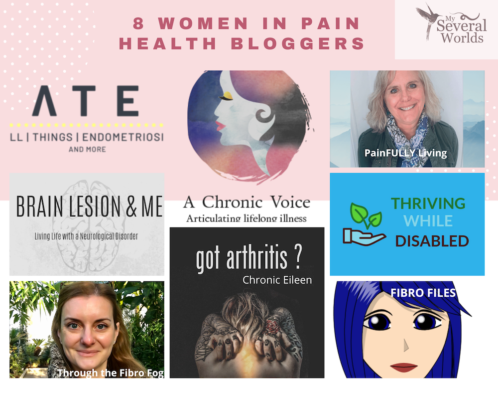 8 women in pain health bloggers that you should be following