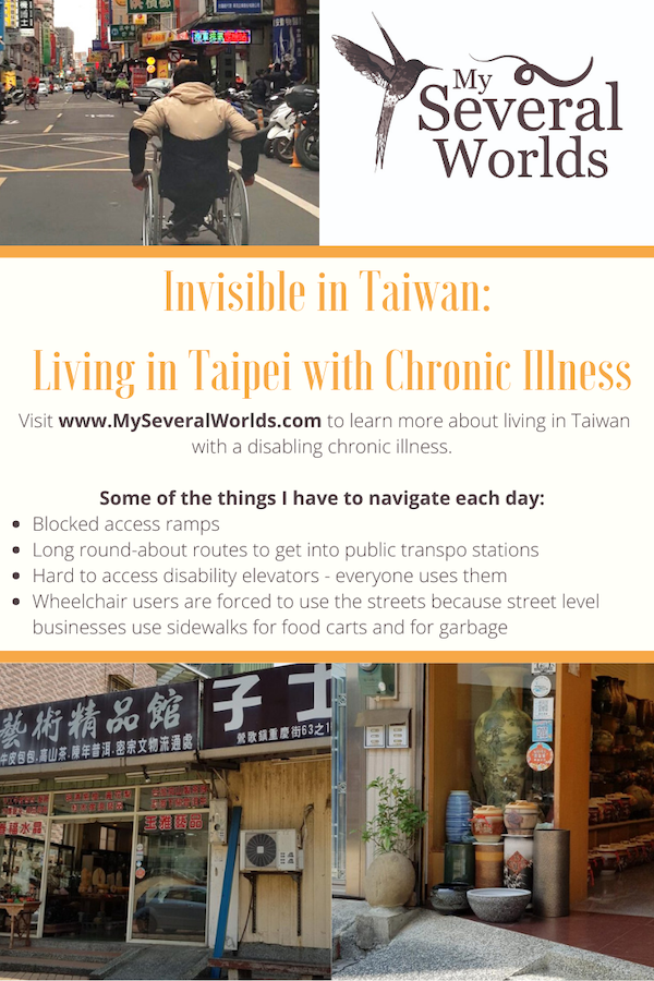 What life is like in Taipei for people who are mobility compromised