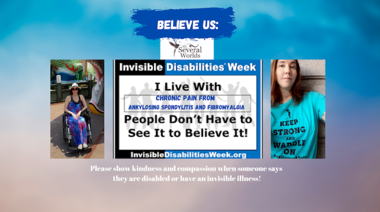 BELIEVE US: Invisible Disabilities Awareness Week - Carrie Kellenberger