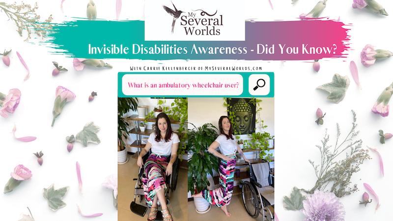 Invisible Disabilities Awareness