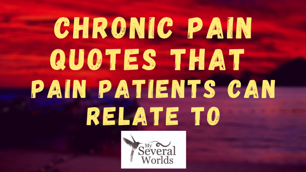 Describing Chronic Pain - Quotes from Pain Patients