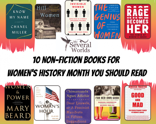 Non Fiction Books By Women for Women's History Month